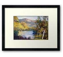 Dabyminga Junction (Goulburn River) Framed Print