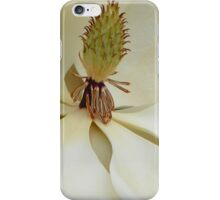 Magnolia Up Close iPhone Case/Skin