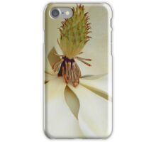 Magnolia Up Close iPhone Case/Skin