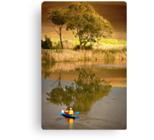 Cruising The Barwon Canvas Print