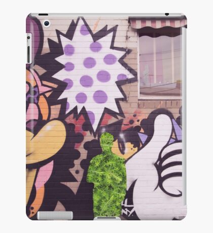 Street Planter 4 iPad Case/Skin