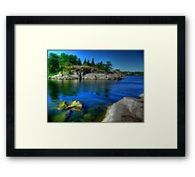 Heart of the Canadian Shield Framed Print