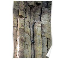 Devils Tower Climber Poster
