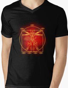Eva Vitruvian Mens V-Neck T-Shirt