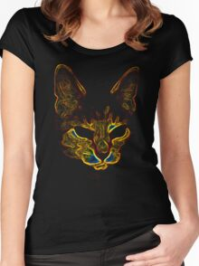 Bad kitty kitty Women's Fitted Scoop T-Shirt