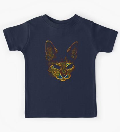 Bad kitty kitty Kids Tee
