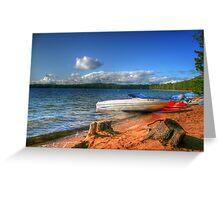 Blue Lake, Ontario, Canada Greeting Card