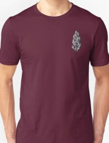 Gray Feather Unisex T-Shirt