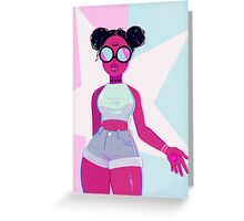 garnet Greeting Card