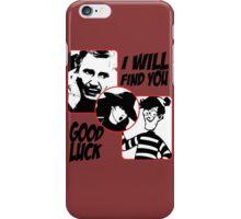 Finding Liam iPhone Case/Skin