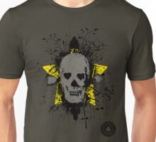 Poker skull with splater  Unisex T-Shirt