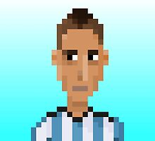 Angel Di María - Argentina by pixelfaces
