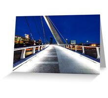 BRIDGE TO SOMEWHERE Greeting Card