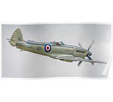 Supermarine Seafire MK.XVII (2) Poster