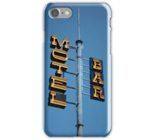 Motel / Bar iPhone Case/Skin