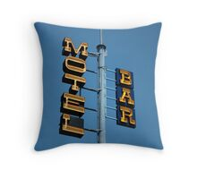 Motel / Bar Throw Pillow