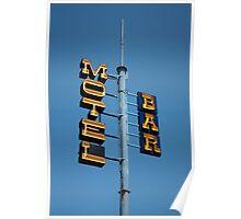 Motel / Bar Poster