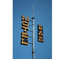 Motel / Bar Photographic Print