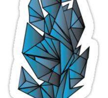 Blue Feather Sticker