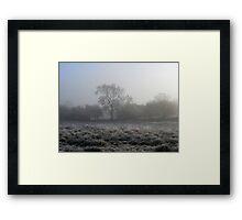 Frost & Mist  (November)  Framed Print
