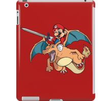 Mario attack iPad Case/Skin