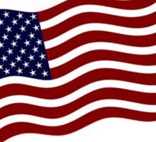 Donald Trump US Flag Sticker