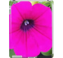Hot Pink Bloom Collection iPad Case/Skin