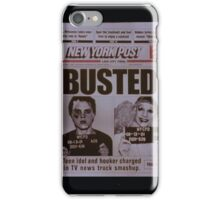 Busted ~ Hedwig and the Angry Inch iPhone Case/Skin