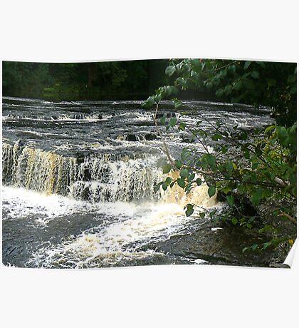 Aysgarth Falls - Yorks Dales. Poster