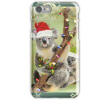 Christmas Koala's iPhone Case/Skin