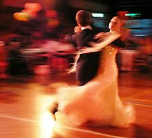 Partners dancing by Janette Anderson
