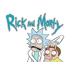 "Rick and Morty ""Look Morty!"" by Bluepotatogirl"