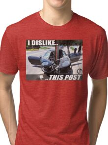 I Dislike This Post | Ferrari Tri-blend T-Shirt