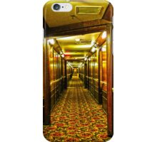 Queen Mary Corridor  iPhone Case/Skin