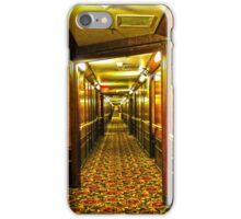 Queen Mary Corridor  iPhone Case/Skin