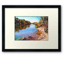 'The Shallows' Framed Print