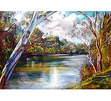 Spring Afternoon - Goulburn River Photographic Print