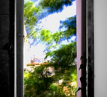 Athens, bathroom window by Revenant