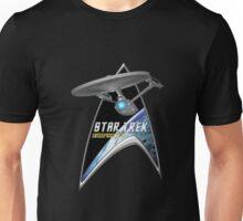 StarTrek Command Silver Signia Enterprise 1701  2 Unisex T-Shirt