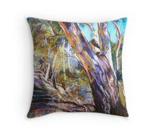 Banks of the Goulburn Throw Pillow