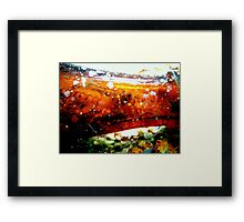 TO RENT. room with 360' views. Framed Print