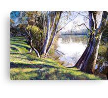 The Goulburn River - Upstream Canvas Print