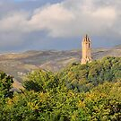 Wallace Monument,Stirling,Scotland by Jim Wilson