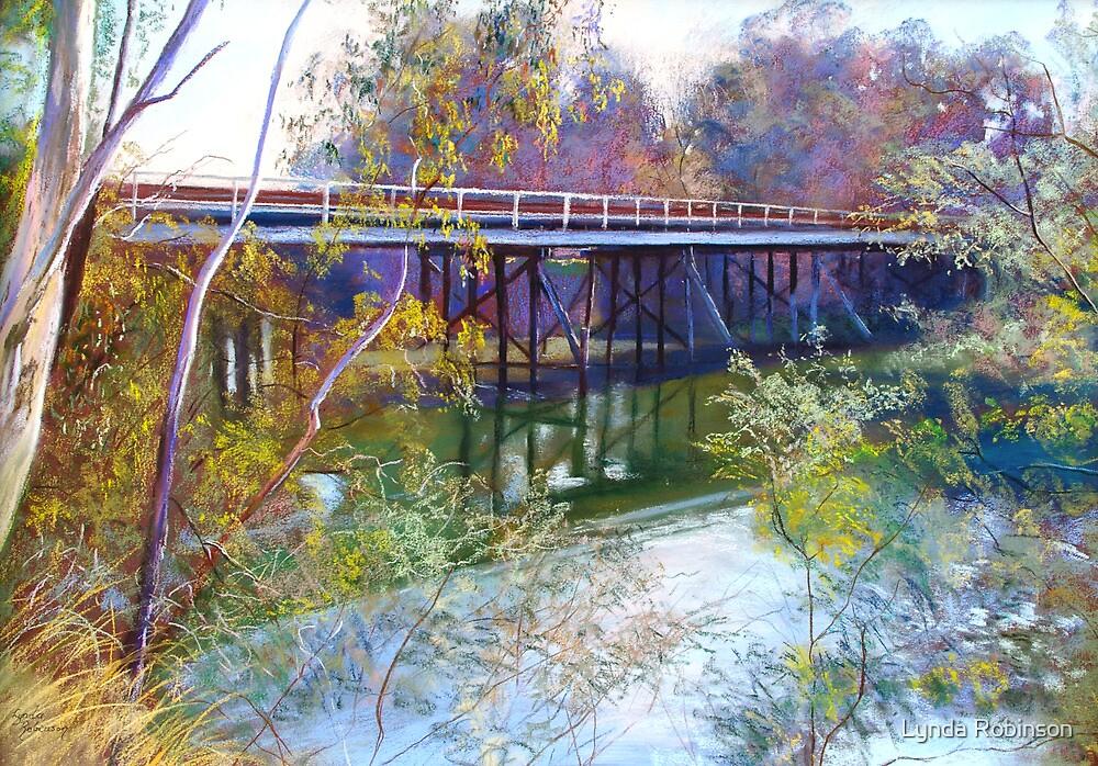 Old Goulburn Bridge (Seymour) No. 1 by Lynda Robinson