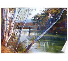 'A Glimpse of Goulburn Bridge' Poster
