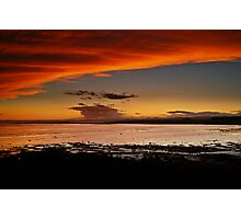 Orange Delight At Shellbay, Scotland. Photographic Print