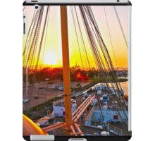 Queen Mary Sunset Over the Bow iPad Case/Skin