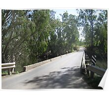 Typical Central QLD bridge, Australia Poster