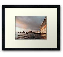 Away From the Mothership Framed Print