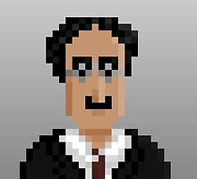 Groucho Marx by pixelfaces